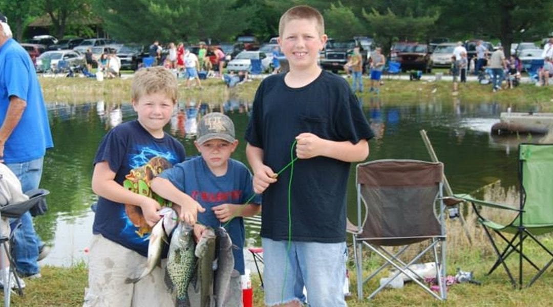 Kentucky Free Fishing Weekend June 2-3, 2018