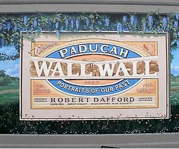 Floodwall Murals Paducah