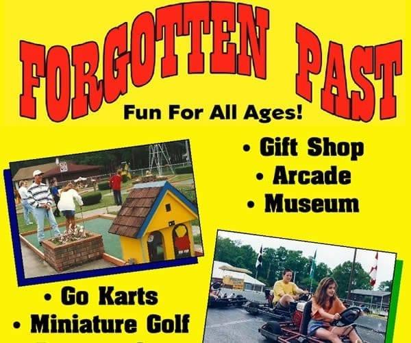 Forgotten Past Park, Draffenville attractions