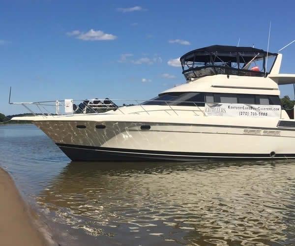 Kentucky Lake Boat Charters Grand Rivers