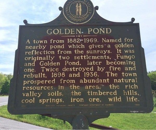 Golden Pond Visitor Center Historic site