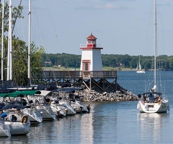 Lighthouse Landing Marina and Resort, Kentucky Lake marinas