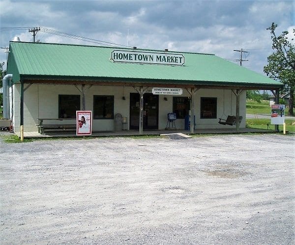 Tyson's Hometown Market home of the bubba burger