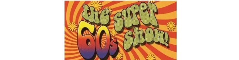 The Super 60's Show Badgett Playhouse log