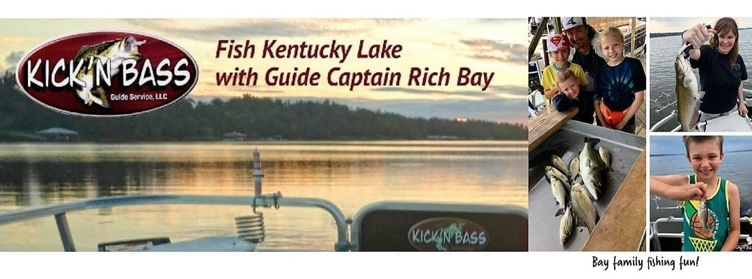 Your August Kentucky Lake Fishing Report from Kick'n'Bass