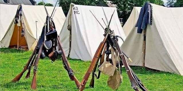 Battle of Smithland Civil War Reenactment