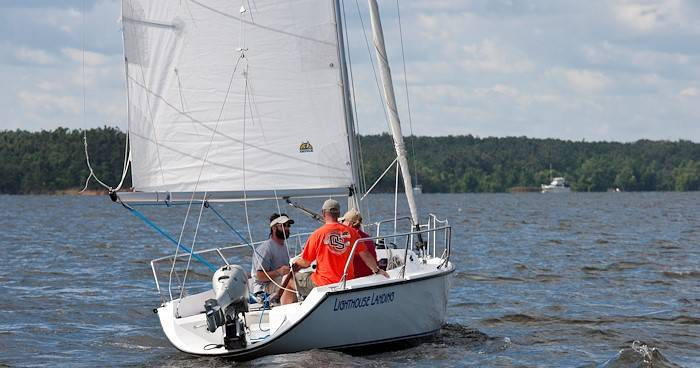 Learn to Sail on Beautiful Kentucky Lake